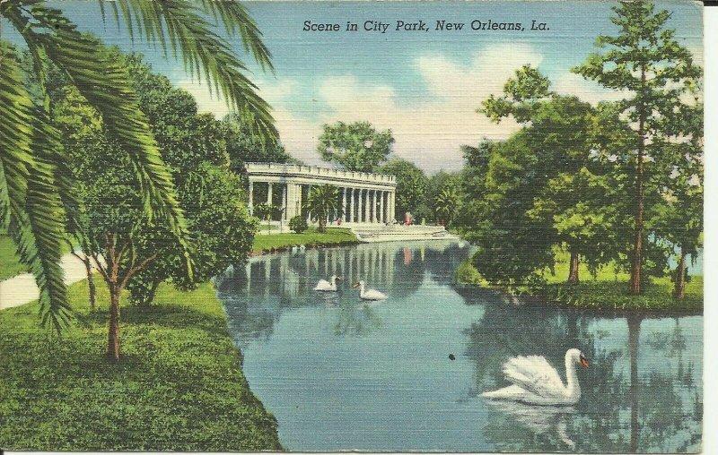 New Orleans,La., Scene In City Park