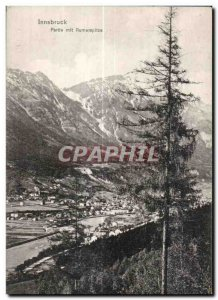 Old Postcard Innsbruck Party began Rumerspitze Austria
