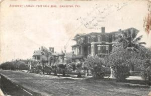 Tex. Galveston, Broadway, Looking West from 23rd 1910