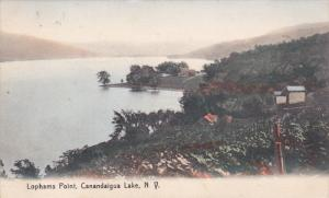 CANANDALGUA LAKE, New York; Lophams Point, 00-10s