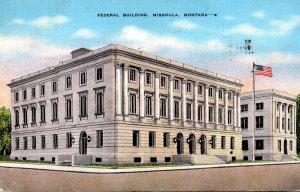 Montana Missoula Federal Building 1945