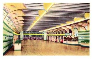 Excursion Steamer Preident , Coloramic Rainbow Ballroom