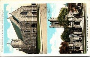 Delaware DE Wilmington ST PAUL - McCabe Church VINTAGE Postcard PC