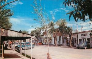 Virginia City Montana~Photographic Studio~Shops on Wallace Street~1950s Postcard