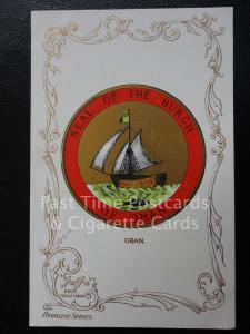 c1906 - OBAN - Heraldic Coat of Arms