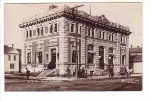 Real Photo Post Office, Wausau, Wisconsin, 1909