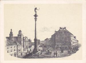 Poland Warsaw Kolumna Zygmunta by Franciszek Schuster