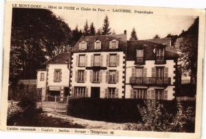 CPA  Le Mont-Dore-Hotel de l'Oise et Chalet du Parc -Lacombe Propriétare(220442)