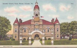 Virginia Pulaski Pulaski County Court House