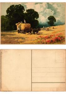 CPA Der Ernte Last und Freude Meissner & Buch Litho Serie 1522 (730524)