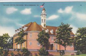 The Old Capitol Building 1699-1705, Williamburg, Virginia 1930-40s