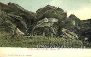 Pratts Rocks Prattsville NY 1905