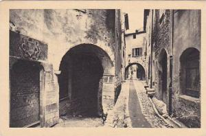 Old Street At St. Paul, Vieille Rue De St. Paul (Alpes Maritimes), France, 19...