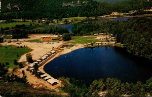 New York Warrensburg Aerial View Sit'n Bull Ranch Resort