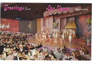 Venus Showroom at Frontier Hotel & Casino 1960s Las Vegas Nevada