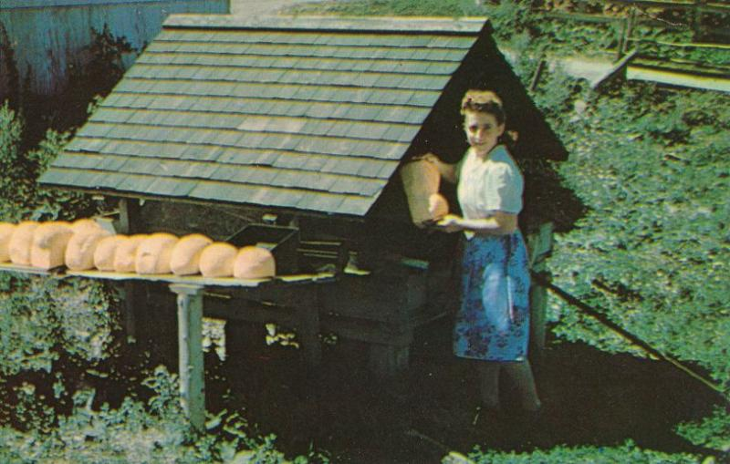 Bread Loaves at Open Air Oven - Scenic Gaspe QC, Quebec, Canada