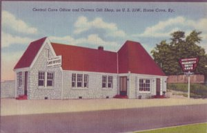 HORSE CAVE - The Central Cave Office & Cavern Gift Shop of MAMMOUTH CAVE 1940s