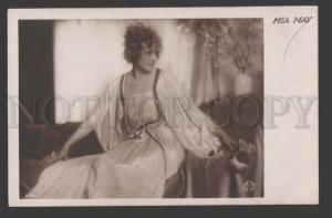 112647 MIA MAY German Silent MOVIE Star ACTRESS Vintage PHOTO