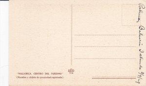 MALLORCA, Islas Baleares, Spain, 1900-1910s; Patio Barroco Mallorquin Del Sig...