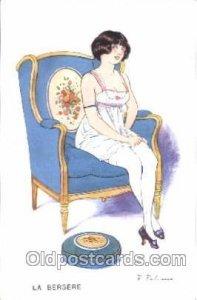Series No. 27 - 132 F. Fabiano, (France ) Artist Signed Unused