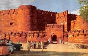 Amar Singh Gate Agra Fort India Unused