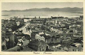 italy, CAGLIARI, Panorama (1920s) Postcard