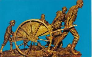 Utah Salt Lake City Handcart Pioneer Monument Temple Square