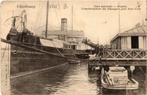 CPA  Cherbourg - Gare Maritime - Ariadne - Transbordement des Passagers (632568)