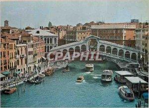 Postcard Modern Venice Rialto Bridge
