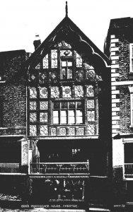 England Chester God's Providence House