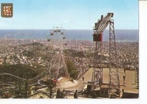 Postal 042092 : Barcelona. Tibidabo. Atracciones