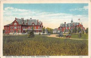 6907 IN Greensburg   General View, State I.O.O.F. Home, Retirement