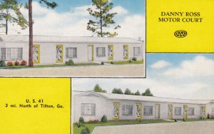 TIFTON , Georgia , 1930-40s ; Danny Ross Motor Court
