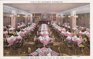 Illinois Chicago Eitel's Old Heidelberg Rathskeller Randolph Near State In Th...