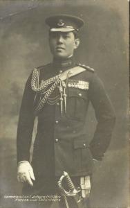 malay malaysia, JOHOR JOHORE, Sultan Ibrahim in Uniform (1920s) RPPC Postcard