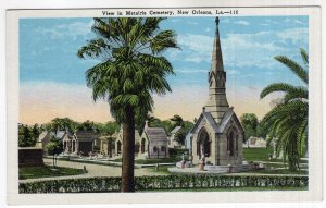 New Orleans, La, View in Metairie Cemetery