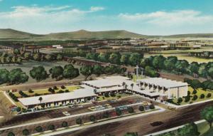 PHOENIX , Arizona, 1965 ; Cross Roads Methodist Church, present & proposed views
