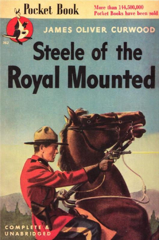Postcard of Steele of the Royal Mounted 1946 RCMP Book - Modern Postcard