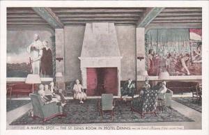 New Jersey Atlantic City The St Denis Room Interior In Hotel Denis