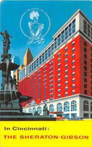 Ohio Cincinnati  The Sheraton-Gibson Hotel