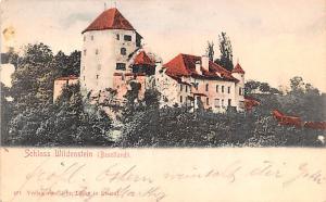 Switzerland Old Vintage Antique Post Card Schloss Wildenstein Baselland 1907