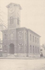 Rhode Island Westerly Old Town Hall On Union Street Circa Late 1920s