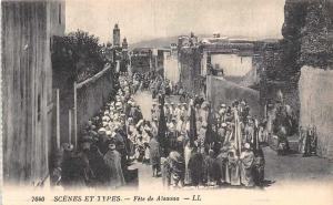 Morocco Scenes et Types Fete de Aisaoua