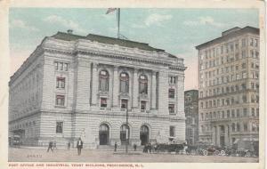 PROVIDENCE , Rhode Island , 1910s ; Post Office & Industrial Trust Bldg