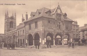PETERBOROUGH, Northamptonshire, England, 1900-1910's; Town Hall