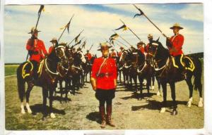 A colourful tradition and ceremony through the horse,Royal Canadian Mounted P...