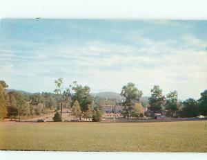 Vintage Post Card Aerial Jacksonville State College Admini Bldg  Ala   # 4136