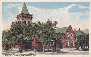 NORTH PLATTE , Nebraska , 1923 ; First M.E. Church
