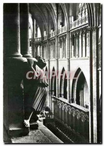 Modern Postcard Nevers Cathedral View of the old choir AFFECTED part in resto...