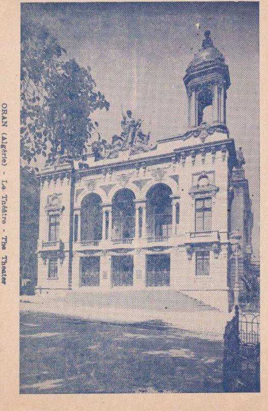 ORAN , Algeria ,1900-1910s ; The Theater